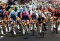 """Участники велогонки """"Джиро д'Италия"""""""