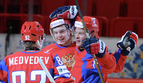 Хоккеисты сборной