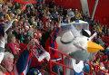 Фанаты хоккея плясали на трибунах после выхода россиян в полуфинал ЧМ