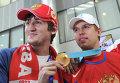 Сергей Широков (справа)