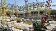 Строительство нового футбольного стадиона в Казани