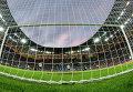 Вратарь сборной Греции Михаил Сифакис пропускает гол в свои ворота