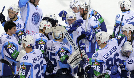 Dynamo Minsk players