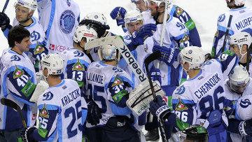 Хет-трик Чичу принес минскому Динамо победу над Югрой в матче КХЛ