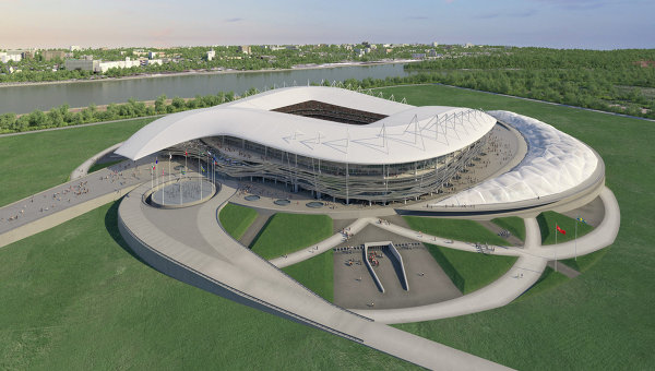 Draft of Stadium in Rostov-on-Don