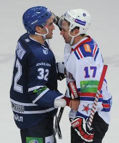 Alex Ovechkin and Ilya Kovalchuk (right)