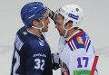 Alex Ovechkin and Ilya Kovalchuk (right)