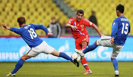 Сборная россии по футболу победила