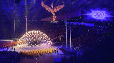 The 2012 Olympics. The closing ceremony