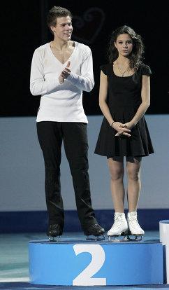 Россияне Елена Ильиных и Никита Кацалапов
