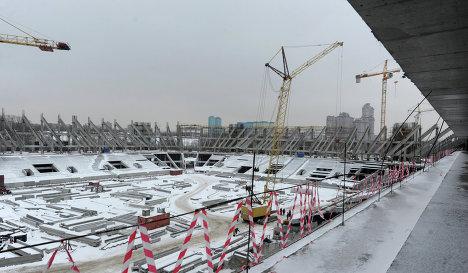 Spartak Moscow stadium