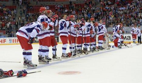 хоккей чм юниоры россия сша: