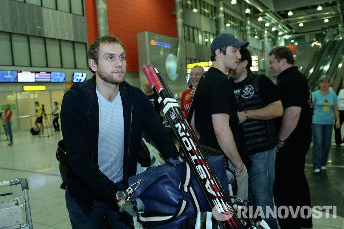 Александр Овечкин и Евгений Бирюков