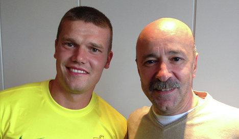 Igor Denisov and Aivaz Kaziakhmedov