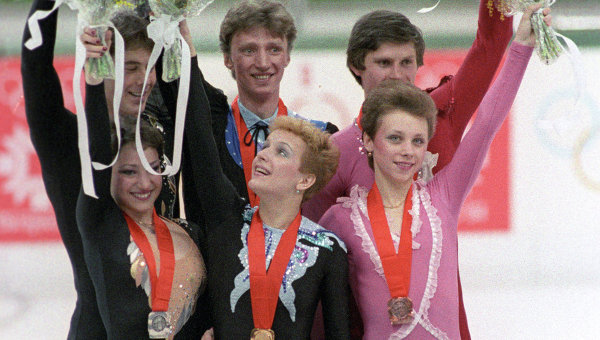 Победители соревнований в парном фигурном катании