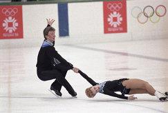 Олимпийские чемпионы в парном катании Елена Валова и Олег Васильев