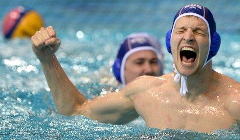 Игрок сборной России Алексей Рыжов-Аленичев