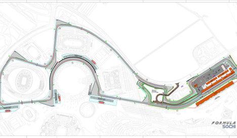 Sochi track design