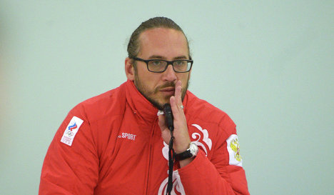 Старший тренер мужской сборной России по керлингу Василий Гудин