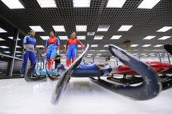 Санный спорт. Открытая тренировка сборной России