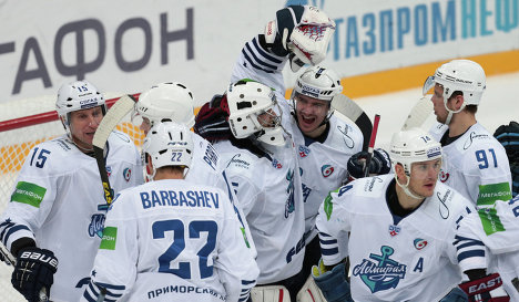 KHL: Admiral Secures Last Playoff Spot