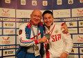 Олег Чен (справа)