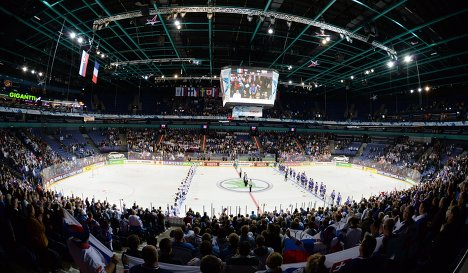 Jokerit's home Hartwall Arena