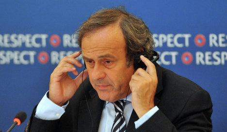 Мишел Платини: публикация отчета Гарсии - это шаг в правильном направлении для ФИФА