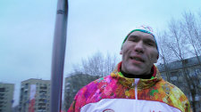 Valuev on how taking part in the Olympic torch relay in Kemerovo was a substitute for the Olympic Games