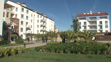 The spacious apartments and sports facilities have been shown to the media as Sochi prepares for the Winter Olympics