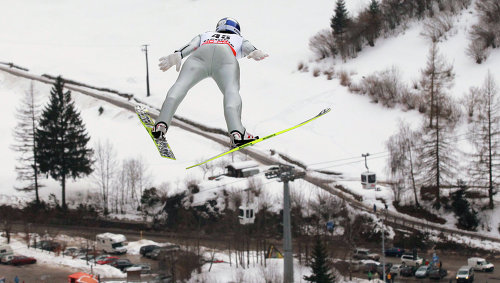 Летающий лыжник моргенштерн