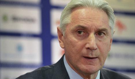Sochi: Future Of Russia's Hockey Coach Hangs In The Balance