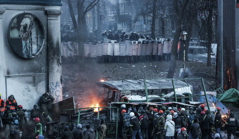 Clashes in Kiev