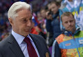 Russia's head coach at the Sochi Olympics, Zinetula Bilyaletdinov