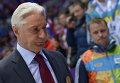 Russia's head coach at the Sochi Olympics, Zinetula Bilyaletdinov