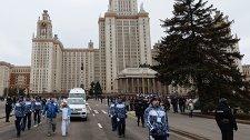 Эстафета паралимпийского огня. Москва