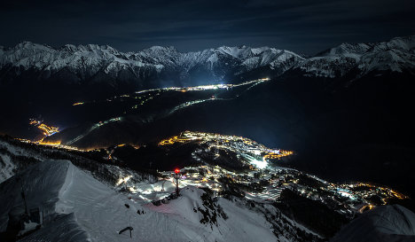 Rosa Khutor Alpine skiing resort