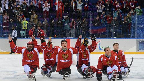 Сборная россии по следж хоккею