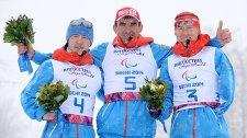 Рушан Миннегулов (Россия) - серебряная медаль, Кирилл Михайлов (Россия) - золотая медаль, Владислав Лекомцев (Россия) - бронзовая медаль.