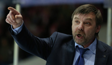 Russia Appoints Oleg Znarok Head Coach Of National Hockey Team - Source