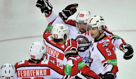 KHL: Playoffs - Donbass Beats Lev In Record Quadruple Overtime