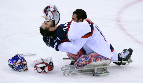 Sochi: US Beats Russia For Paralympic Hockey Gold In Bruising Final