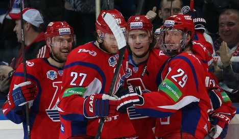 KHL: Lokomotiv Routs SKA To Take Series Lead In West Semifinal