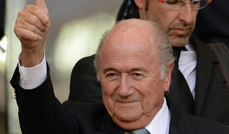 78-летний Блаттер выставит свою кандидатуру на выборах президента ФИФА