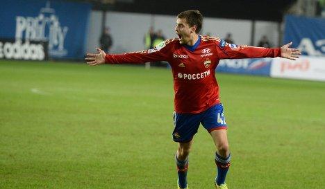 Щенников вернётся в общую группу ЦСКА завтра
