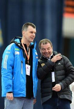 Михаил Прохоров  и Сергей Кущенко