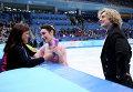Мерил Дэвис и Чарли Уайт из США со своим тренером Мариной Зуевой