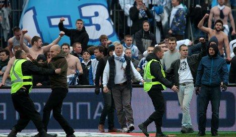 России по футболу зенит динамо