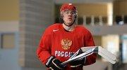 Форвард сборной России Евгений Малкин
