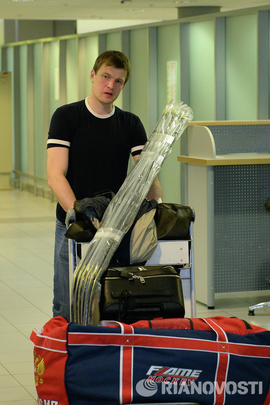 Нападающий сборной России Алексей Терещенко